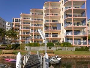 Riverside holiday destination